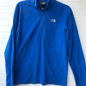 The NorthFace Quarter Zip Fleece Pullover